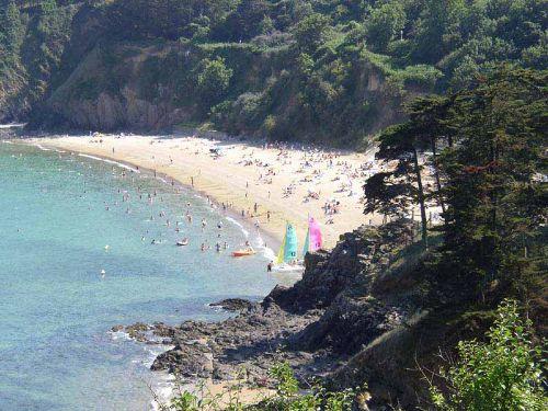 Strand in Etables sur mer