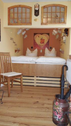 Schlafzimmer mit Schlafkoje