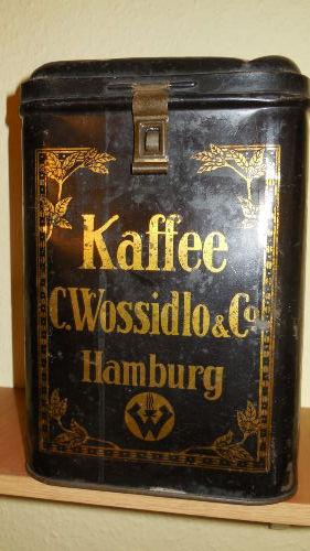 Dekoration: Kaffeedose