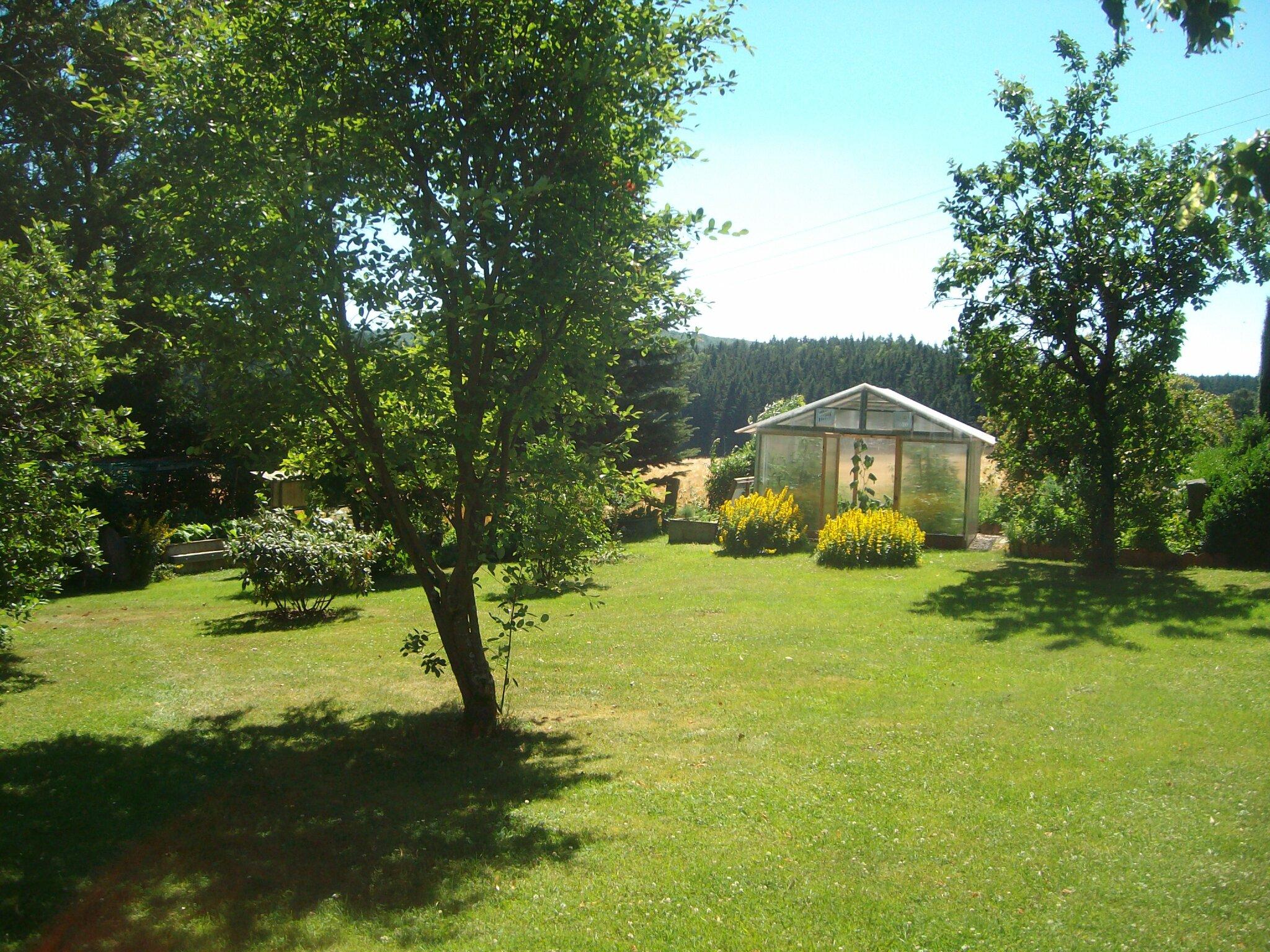 Freie Aussicht in die Winterlandschaft