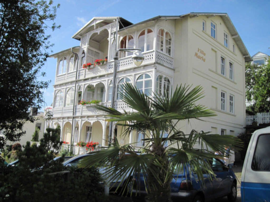 TSS Villa Maria im historischen Bäderstil , App.