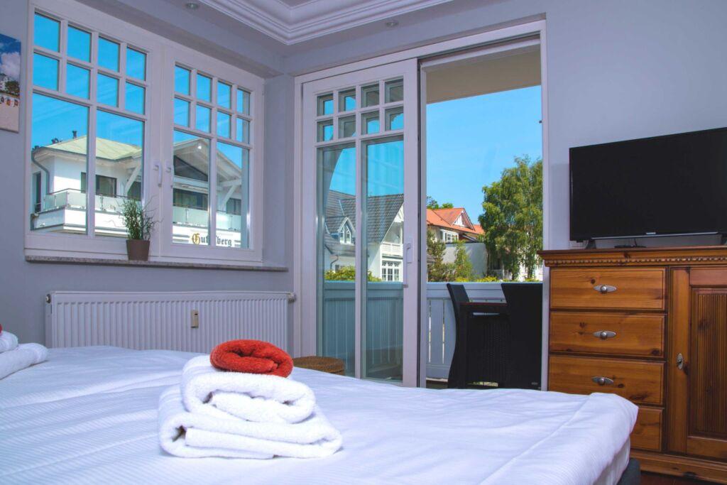 Lux-App. 2 SZ - 2 B�der - Villa Hansa Nr. 4, WiFi