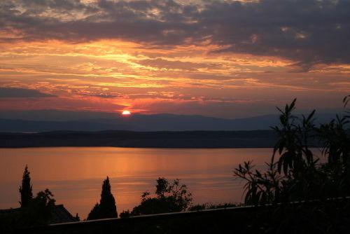 Abend auf unserer Terrasse