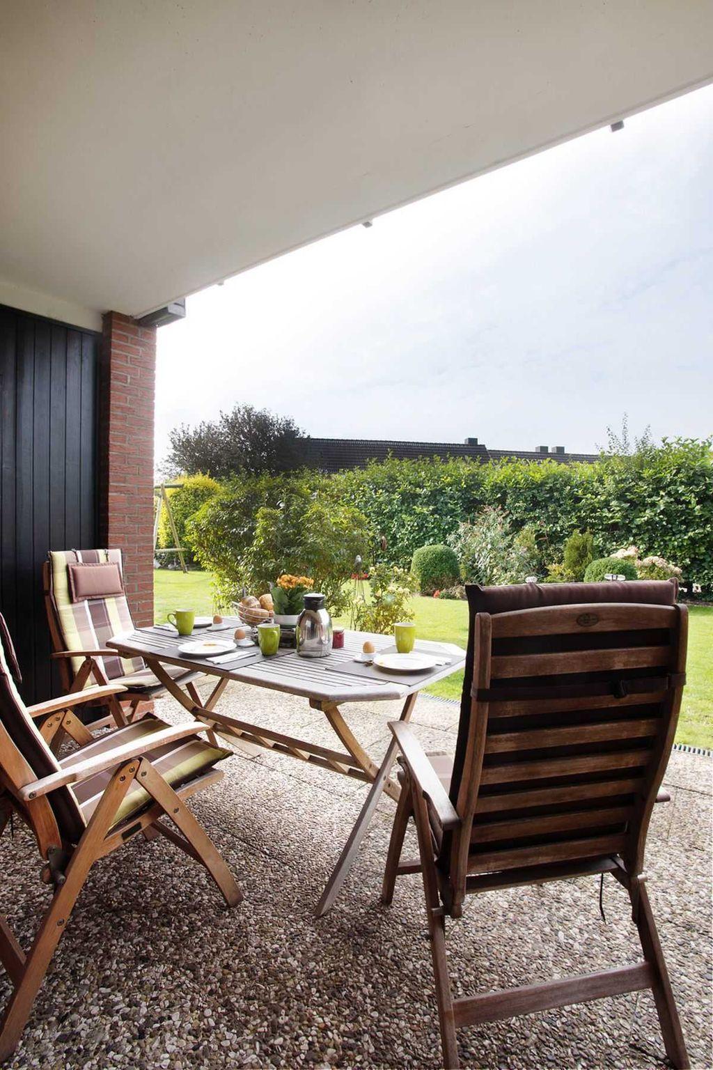 Ferienhaus Ulrich mit eingezäunten Garten und Saun