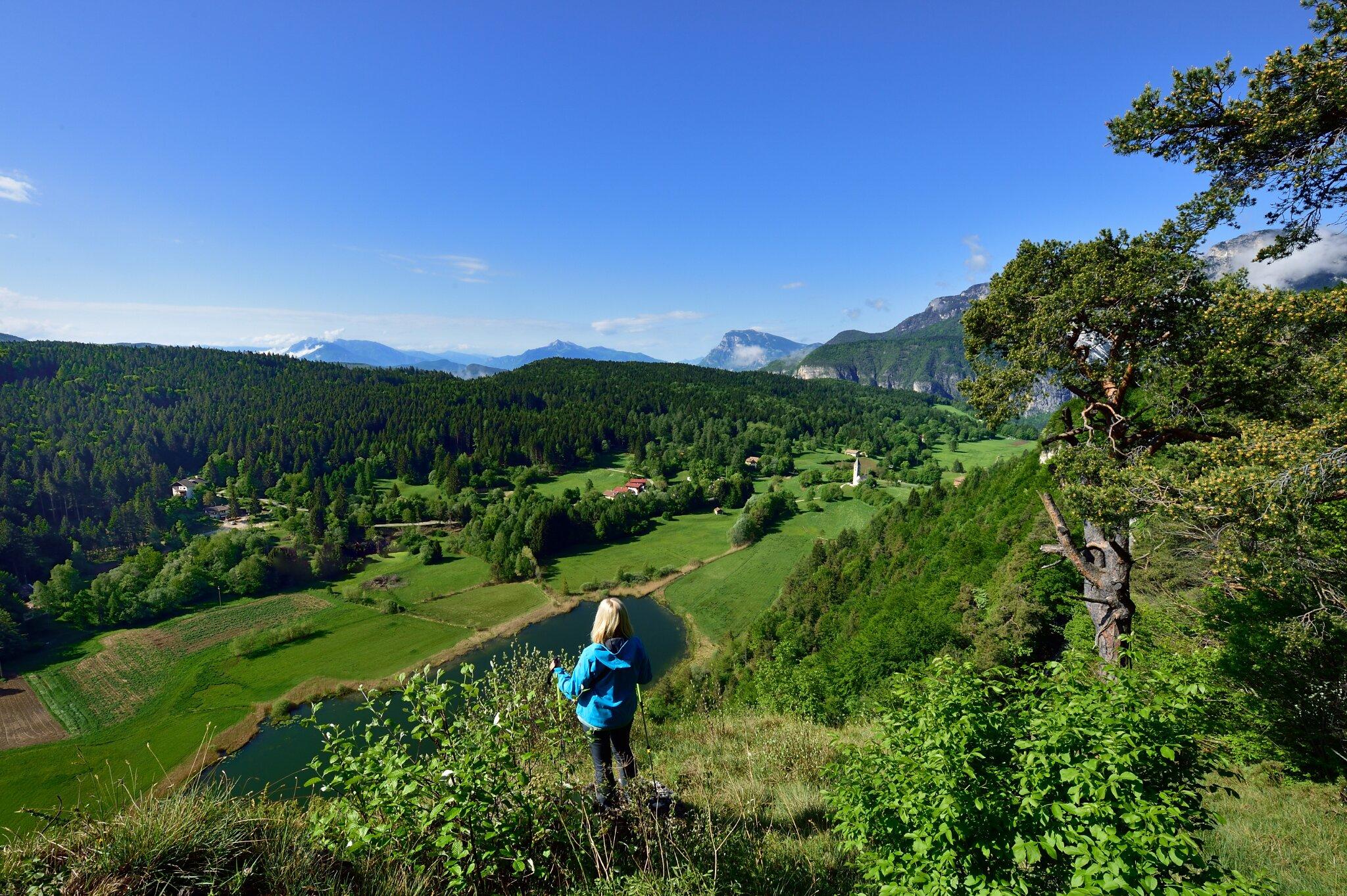 Margreid an der Südtiroler Weinstraße