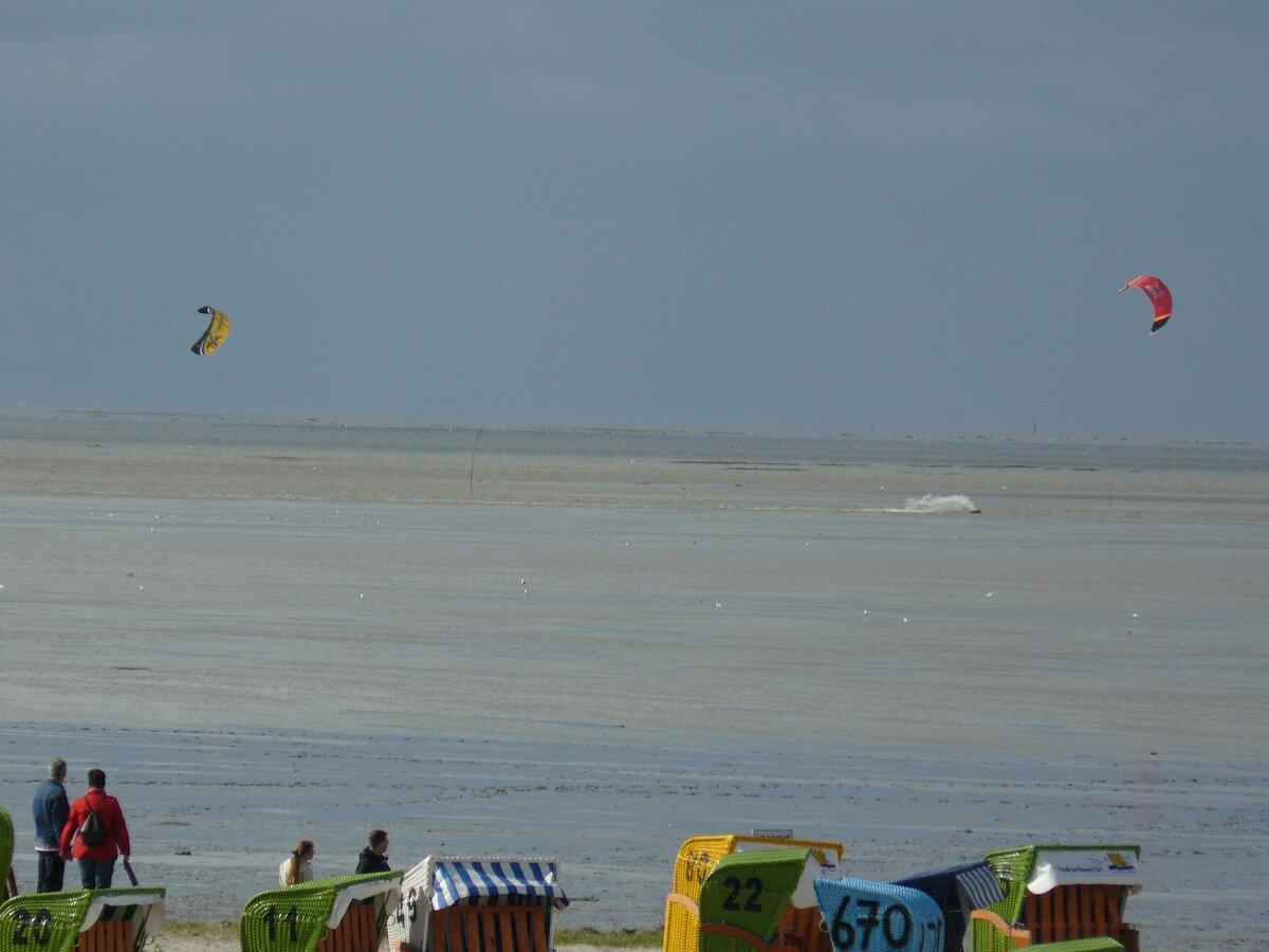 Kitesurfer Neuharlingersiel