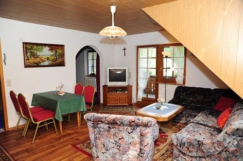 Wohnzimmer Fewo Talblick