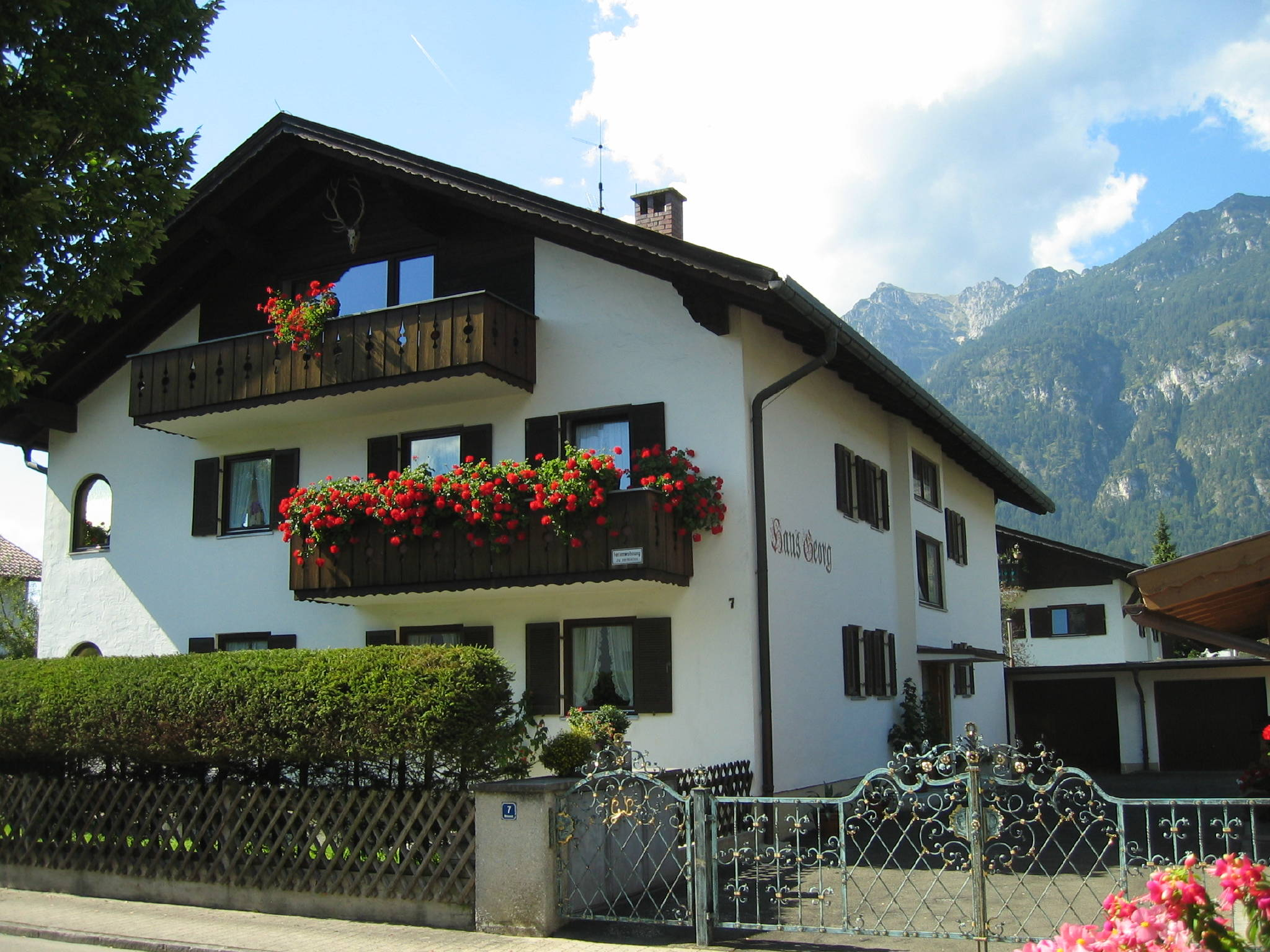 Detailbild von Ferienwohnung Wank mit Terrasse