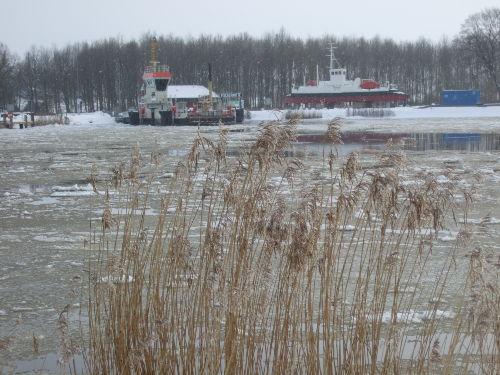 Fähre am Nord-Ostsee-Kanal