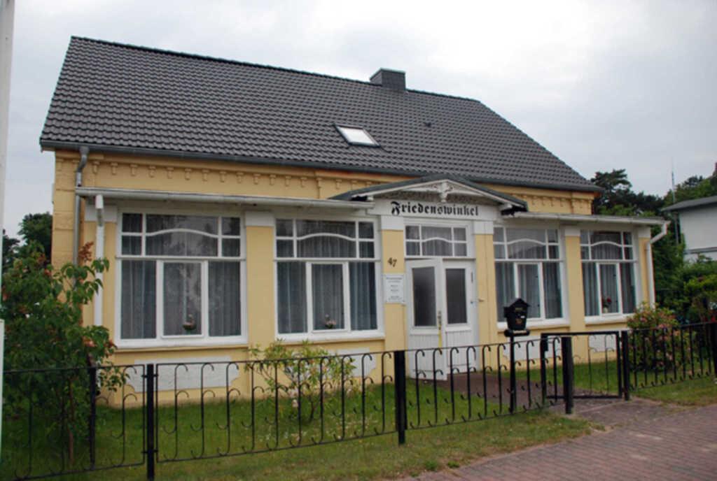 Haus Friedenswinkel, 02 Ferienwohnung 'Backbord'
