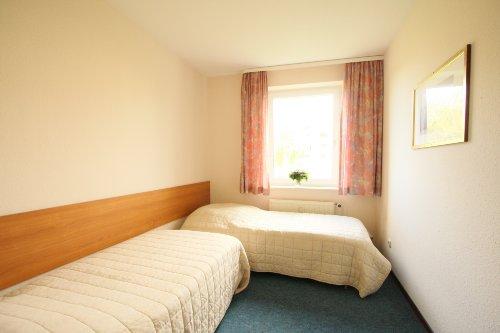 zweites Schlafzimmer, 2-Zimmer-App.