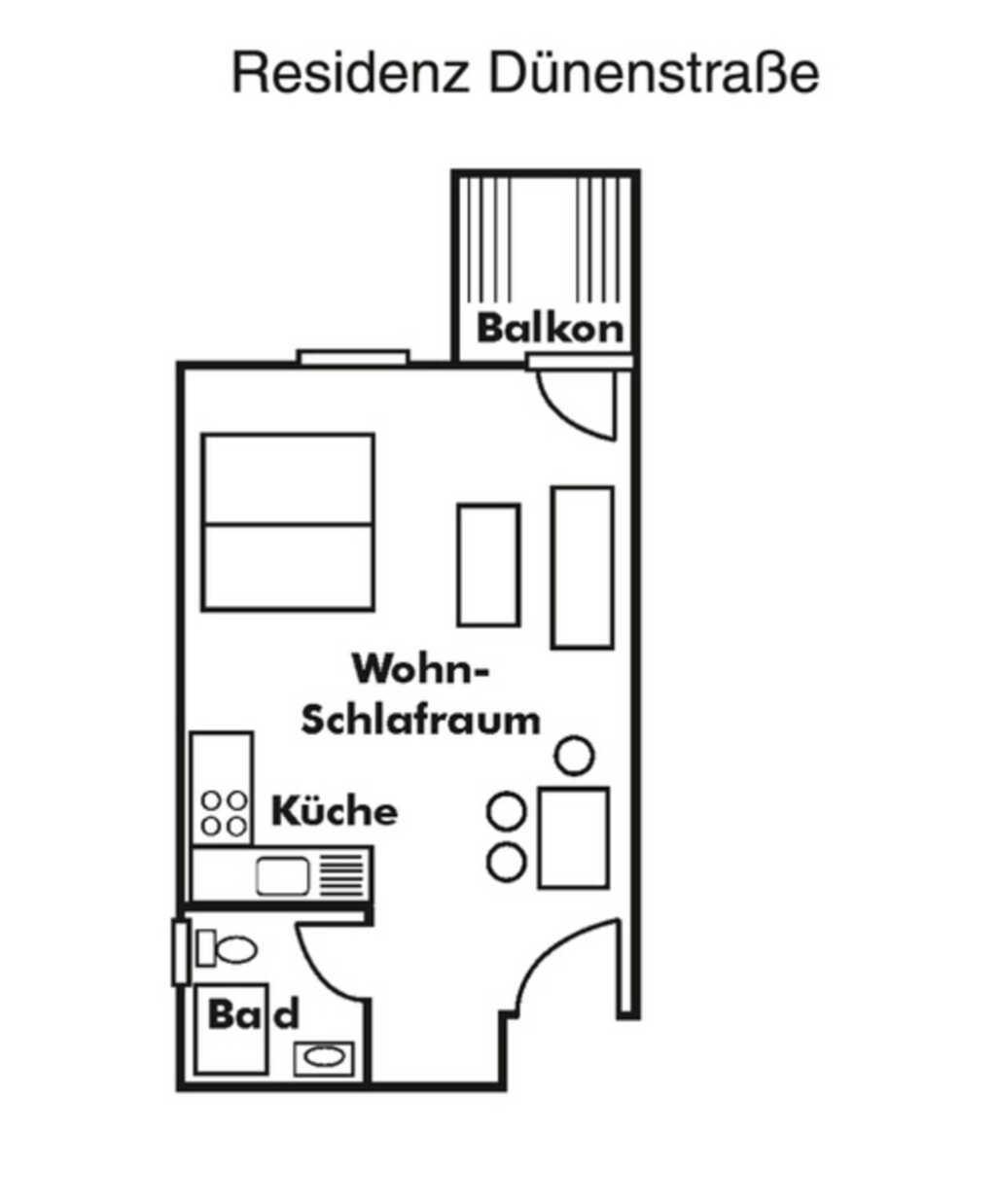 Residenz Dünenstraße, Residenz - App. Nr. 17