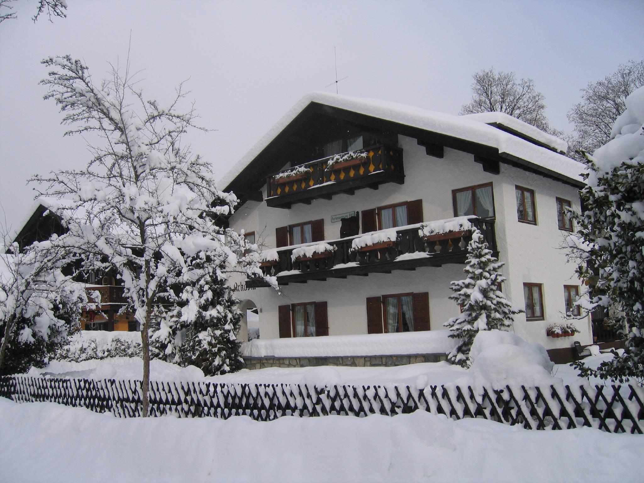 Umgebung von Gästehaus Arkadia