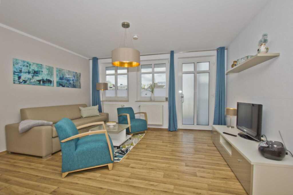 Haus Strandeck, A 07: 65 m², 2-Raum, 4 Pers., Balk