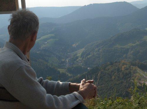 Blick auf Bad Griesbach vom Bauernkopf