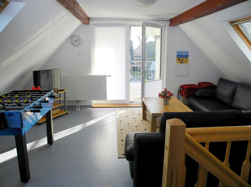 WLAN-Ferienhaus Krabbe bis 8 Pers., 150 m Nordsee,