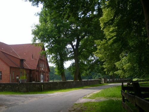 Blick auf den Lütenshof