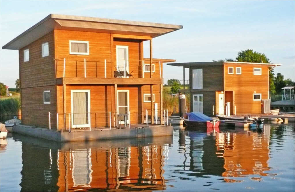 FLOATING HOUSES Comfort - Kröslin - max. 4 Pers.,