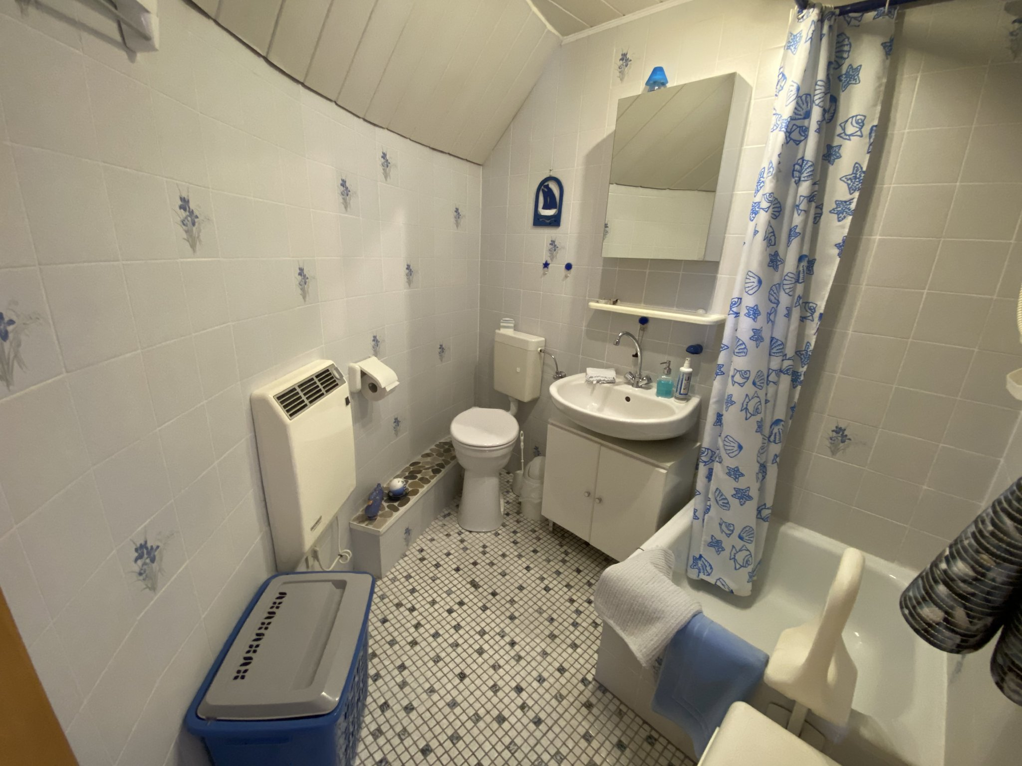 Badezimmer mit hohem WC