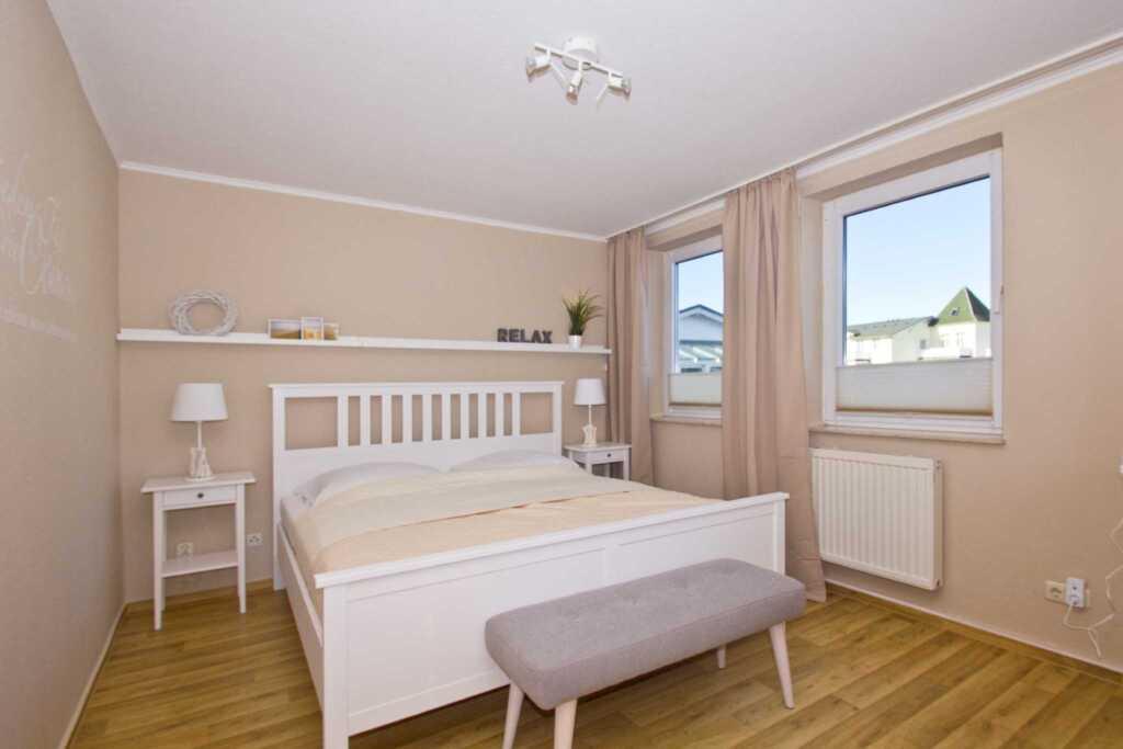 Haus Strandeck, A 20: 65 m�, 2-Raum, 4 Pers., Balk