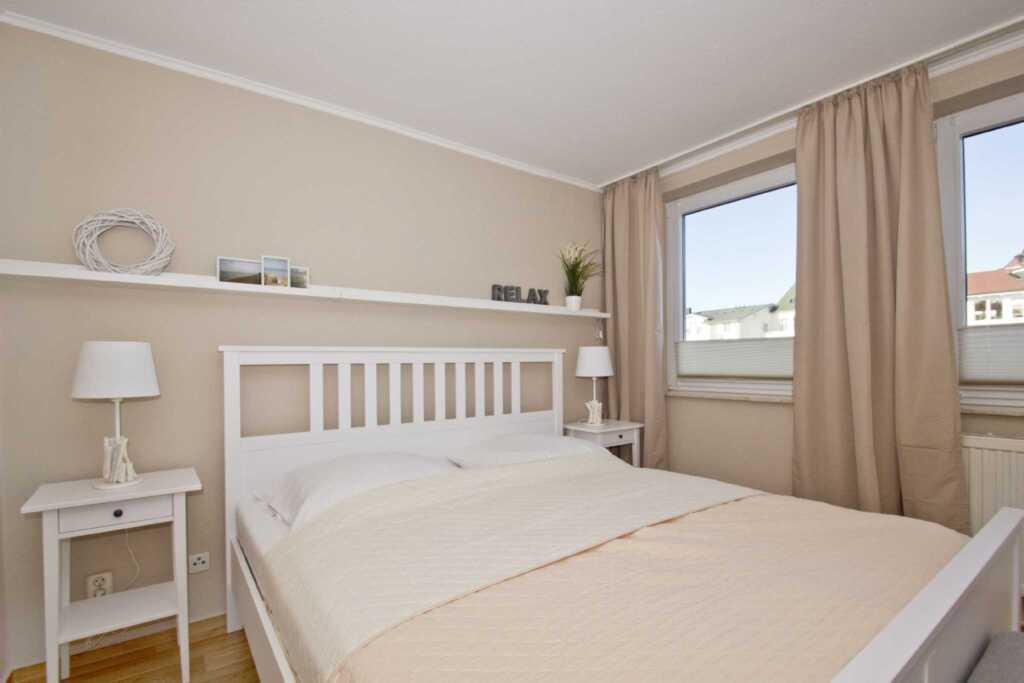 Haus Strandeck, A 20: 65 m², 2-Raum, 4 Pers., Balk