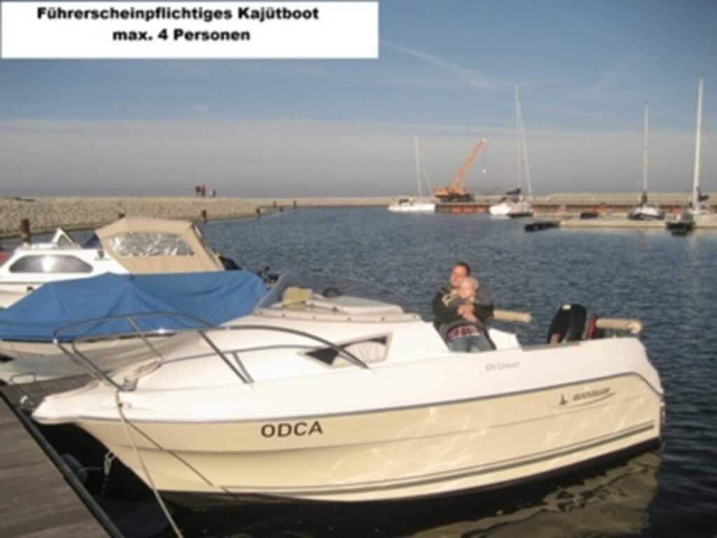 Ferienwohnungen mit Boot DH-20952, FW 3 mit Boot D