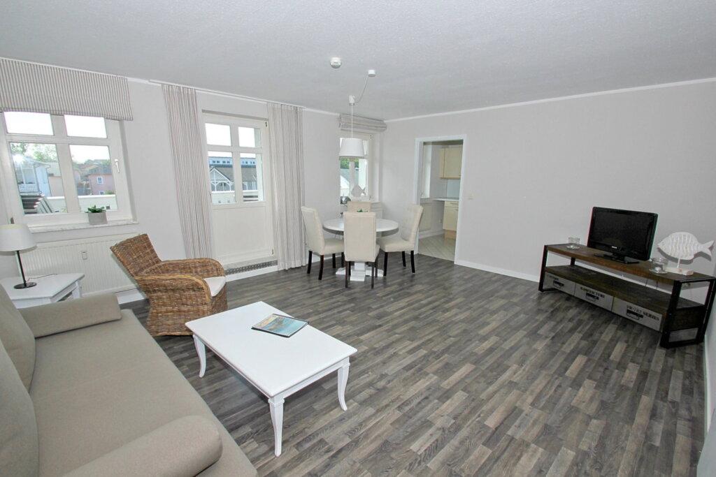 Residenz Strandeck, C 06: 90 m², 3-Raum, 6 Pers.,