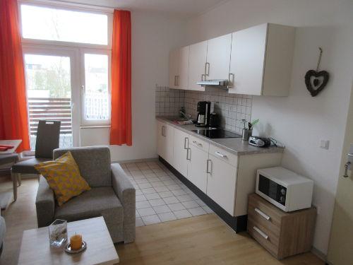 Haus Albatros Wohnung Nr.7 mit Balkon