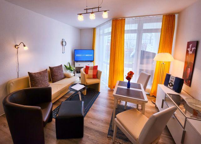 Wohnpark Binz (mit Hallenbad), 2 Raum C 8