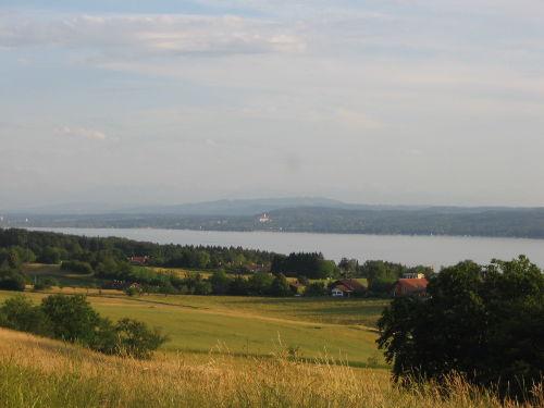 Blick vom Königsberg auf Ammersee