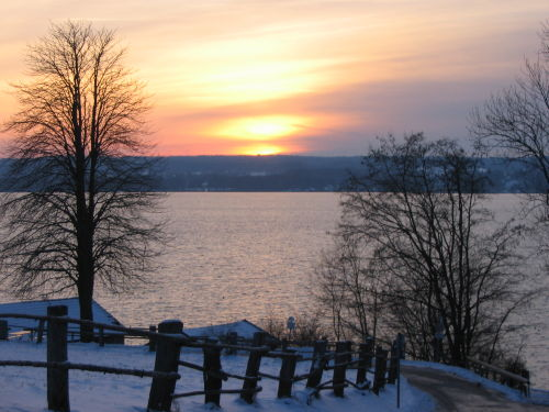 Winterstimmung am Ammersee