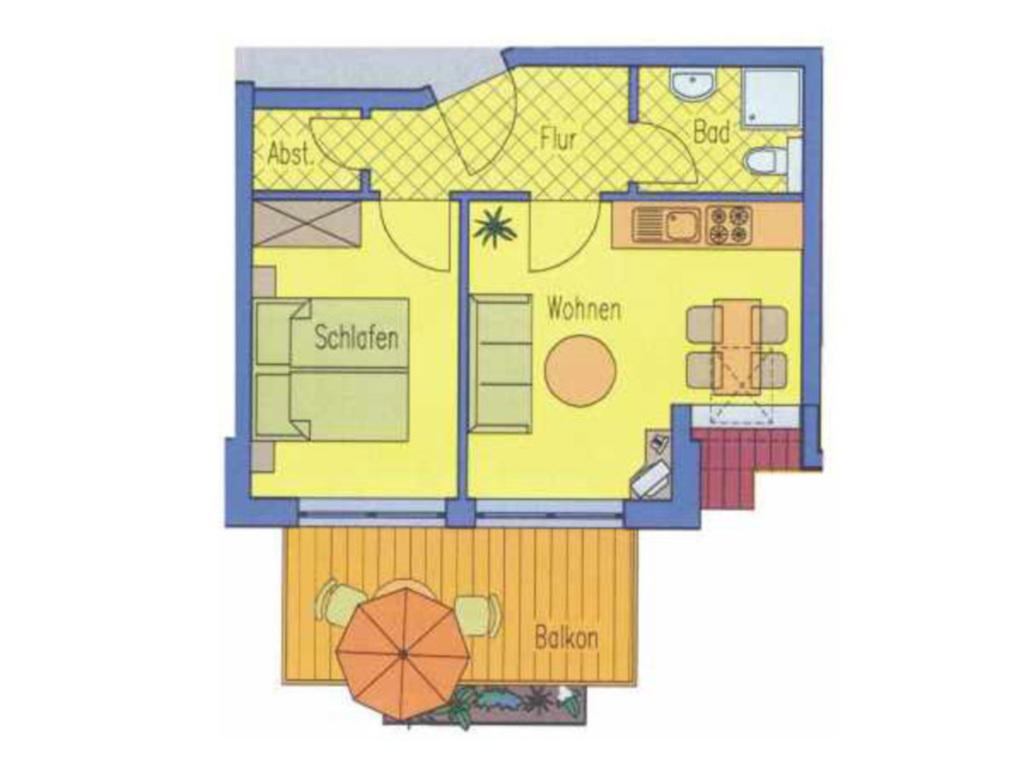 (Brise) Haus Viktoria, Viktoria 2 Zi-App. 5