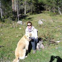 Vermieter: Sabine Erschens mit Luis