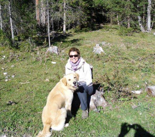 Sabine Erschens mit Luis
