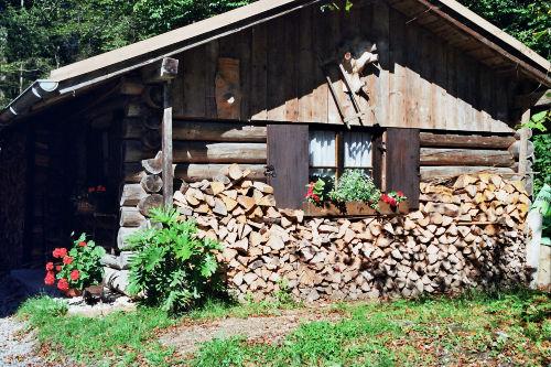 100 Jahre alte Hütte
