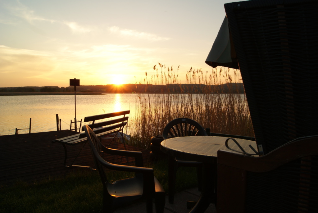 Ferienwohnung am See, 2 Raum Ferienwohnung mit See