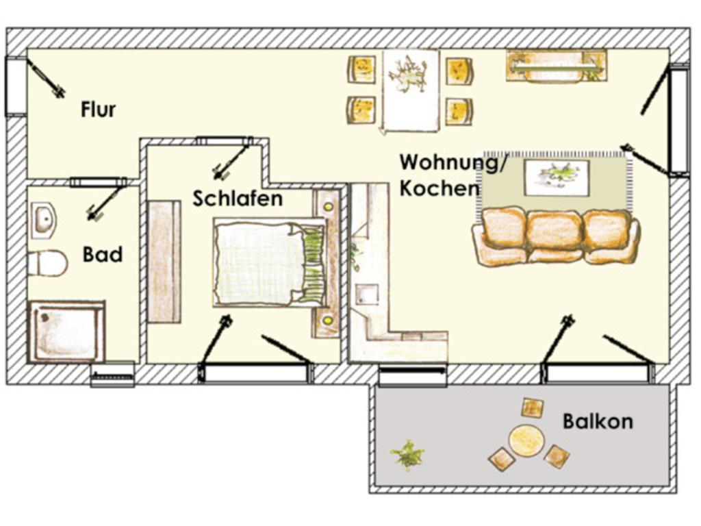 (Brise) Stadtvilla Blumenhof, Blumenhof 9