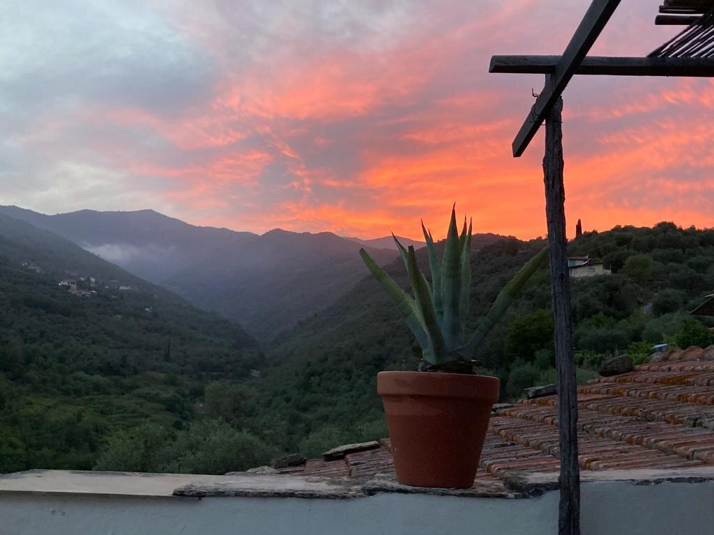 Sala, Blick aus dem Fenster
