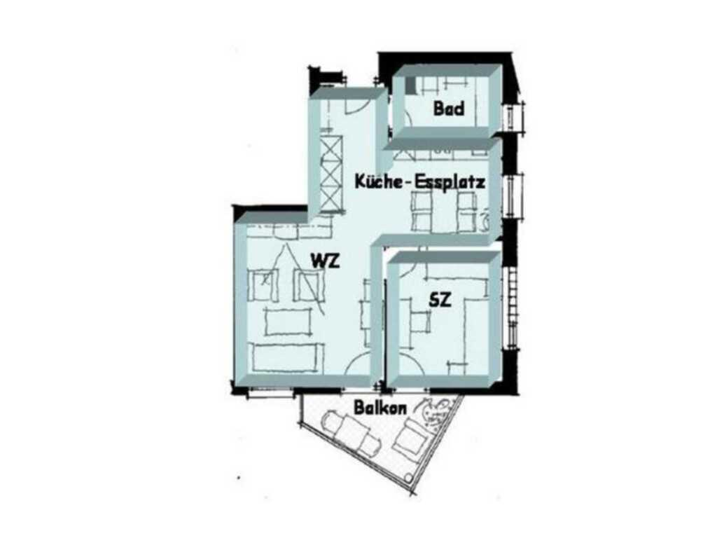 Zinnowitz Residenz Sanssouci 1, W35S
