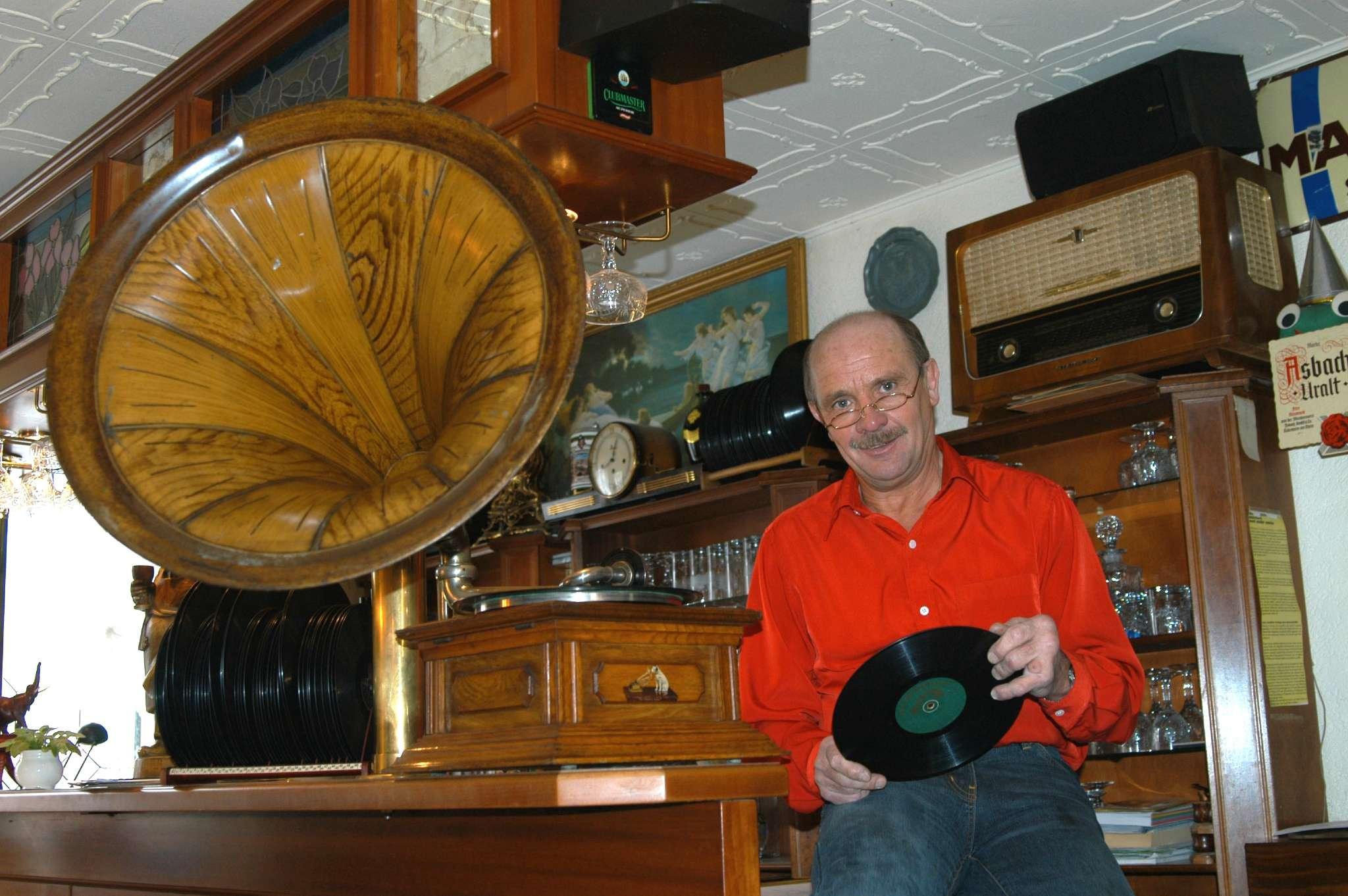 Genießen Sie die Klänge des Grammophons