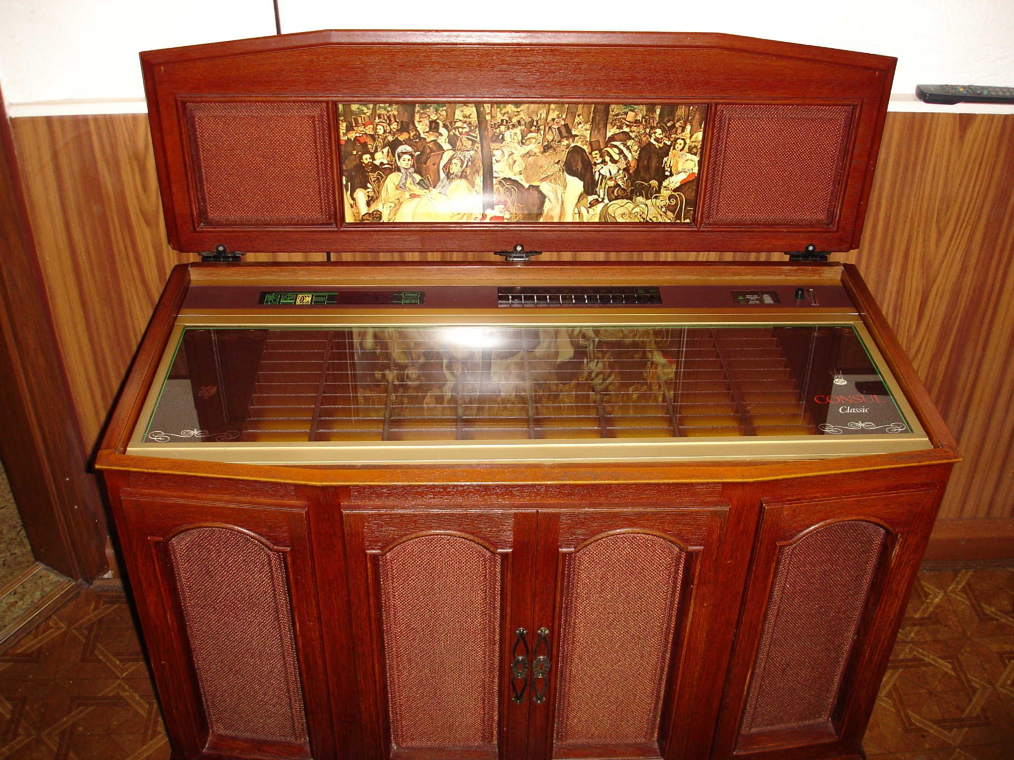 Eine Jukebox wie in guten alten Zeiten