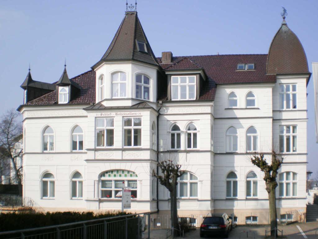 FeWo Christensen im Schloß Hohenzollern, Ahlbeck,