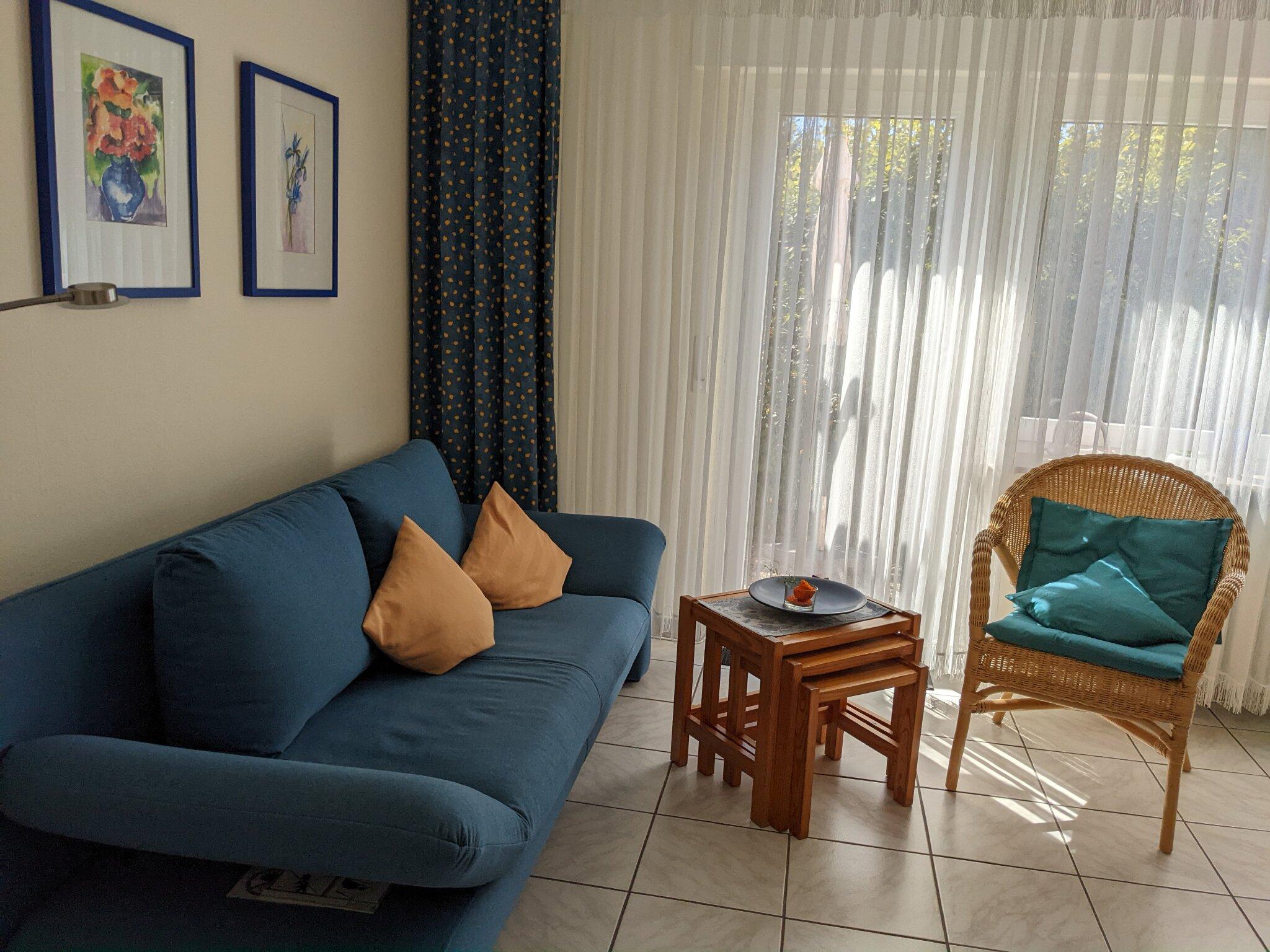 Vom Wohnzimmer direkt ins Grüne