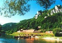 Langenbrunn, Werenwag und Donau
