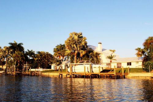 Villa Savona direkt am Salzwasserkanal