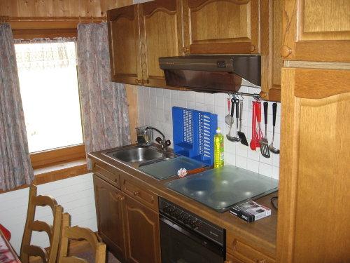 gut ausgestatteteKüche