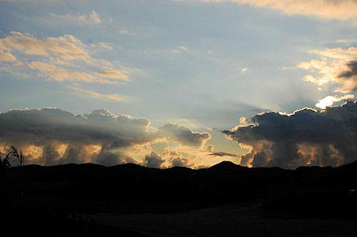 Wolken im September 2