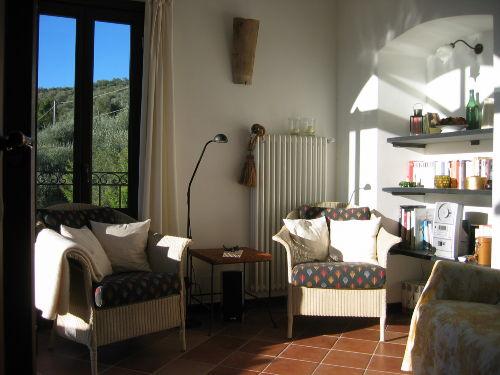 Bequeme Sessel im Terrassenzimmer