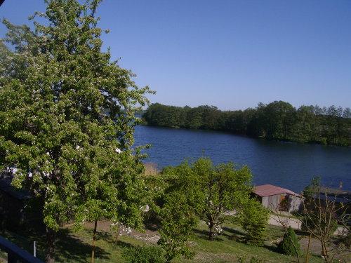 Blick von Terrasse auf Carwitzer See