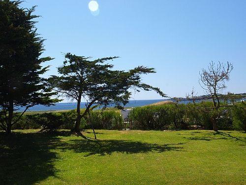 Aussicht von Terrasse und Garten